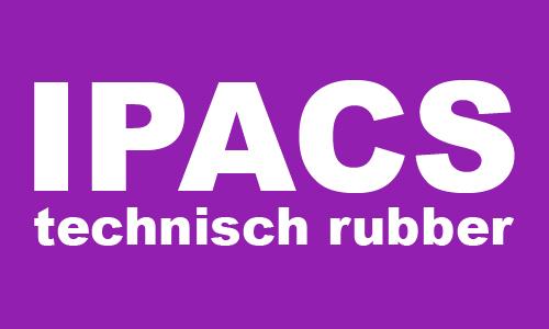 IPACS technisch rubber logo