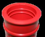 doorvoerrubber-rood